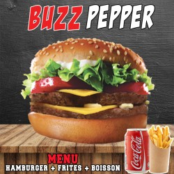 MENU BUZZ PEPPER