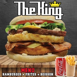 MENU THE KING