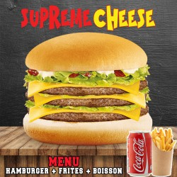 MENU SUPREME CHEESE