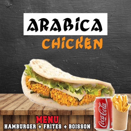 MENU ARABICA CHICKEN
