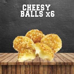 Cheesy balls x6