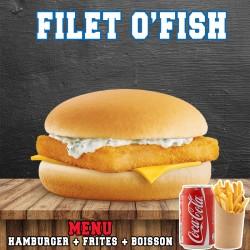 MENU FILET O'FISH