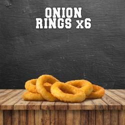 ONION RINGS x6