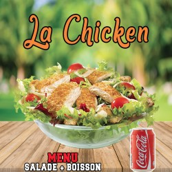 MENU SALADE CHICKEN